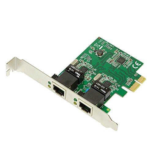 LogiLink PC0075 PCI Express Karte mit 2-Port Gigabit LAN