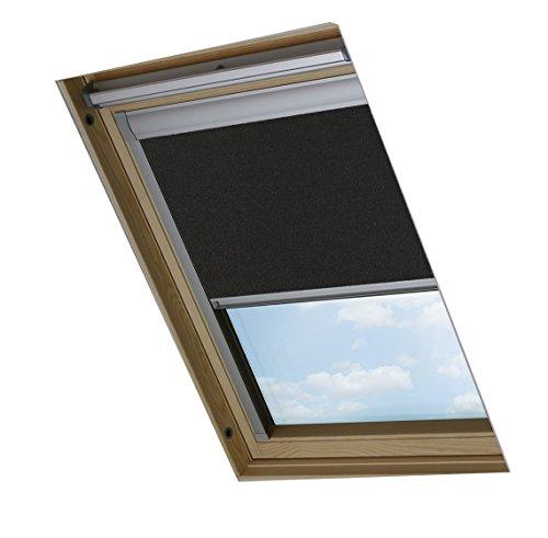 Bloc Skylight Blind Verdunkelungsrollo für Velux-Dachfenster, 206, Schwarz