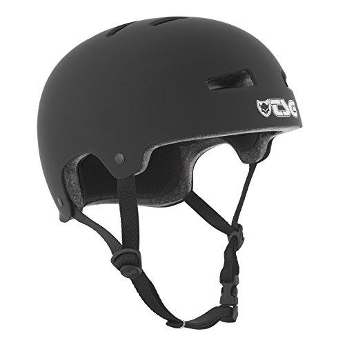 TSG Helm Evolution Solid Color,Schwarz (satin black), S/M, 75046