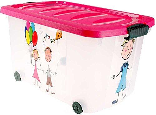 Spielzeugkiste (Multibox) mit Rollen (Kids-Multi)