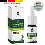 NATURA-MED 10% (30ml) PREMIUM ESSENTIAL ÖL TROPFEN ORIGINAL | made in DEUTSCHLAND