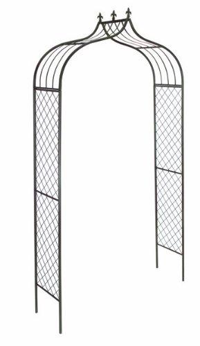 Gardman Versailles Rosenbogen, Metall, 2,4 x 1,2 m