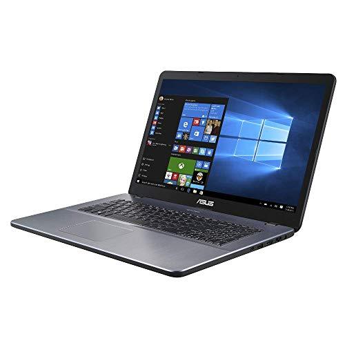 ASUS VivoBook 17 F705UA 90NB0EV1-M05320 43,9 cm (17,3 Zoll, FHD, WV, Matt) Notebook (Intel Core i5-8250U, 8GB RAM, 256GB SSD, Intel UHD-Grafik 620, Windows 10) star grey
