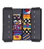 Happy Socks Damen Stripe Socken Gift Box, 4er Pack,