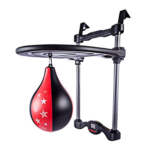 Mecotech Boxen Sport Kinder Punchingball Hängend Speedball Plattform Set, Ideales Geschenk für Weihnachten, Geburtstag, 65 x 40 x 50 cm