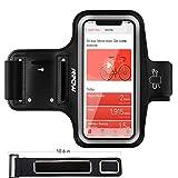 Mpow Sportarmband für iPhone X/8/7/6, schweißfest Sportarmband mit Tasche & Verlängerungsband, Schlüsselhalter, sportarmband Neoprene für Huawei P20 Lite,Samsung Galaxy J5, bis zu 5.8 Zoll