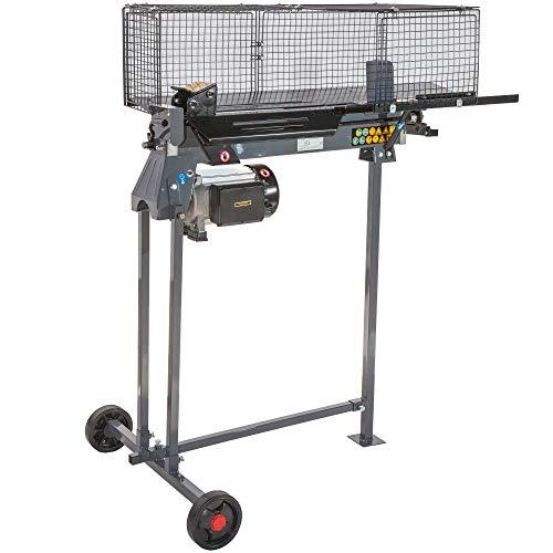 STAHLMANN Hydraulik-Holzspalter, 7 Tonnen Spaltkraft, inkl. Tisch, stufenlos verstellbarer Spaltweg, TÜV GS geprüft