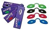 UV Schutzbrille Farbe: schwarz - Solariumbrille, Sonnenschutzbrille, Nasenclip Sunny Light, 600000-schwarz