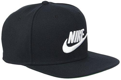 Nike Pro Futura Schirmmütze, Black/Pine Green/White, One Size