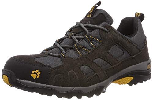 Jack Wolfskin Herren Trekking & Wanderschuhe, Grau (burly yellow 3800),40.5 EU