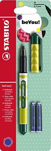 Tintenroller - STABILO beCrazy! FRUITS - Ananas - inklusive 3 Patronen