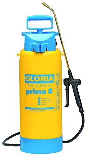 Gloria Drucksprüher Drucksprühgerät 8Liter Typ Prima8, gelb