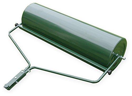 Gartenwalze Rasenwalze Rasenlüfter Handwalze Rasentraktor 102 cm grün