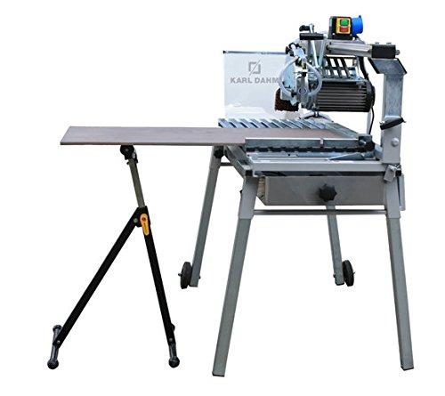 2 x klappbare Rollenböcke Rollbock Rollenbock Werkbank Materialständer höhenverstellbar 30cm breit - max 60 kg Last - POWX0700T_Bdl