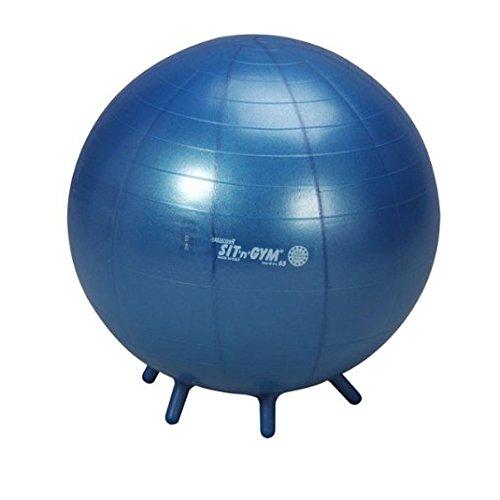Sit'n Gym Sitzball Gymnastikball Yogaball Bürostuhl Büroball Gymball, 65 cm BLAU