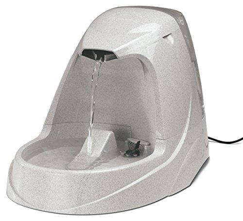 PetSafe Drinkwell Trinkbrunnen Platinum, 5 Liter, BPA frei, organischer Filter, leise, rutschfest, Hunde und Katzen