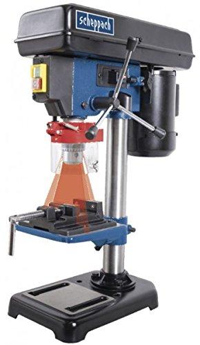 Scheppach DP16VL Tischbohrmaschine 16 mm 500 W mit Schraubstock Laser, 1 Stück, 5906808901