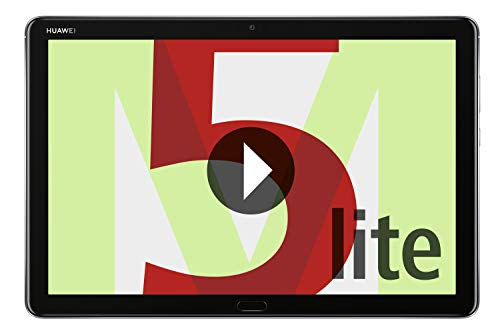 Huawei MediaPad M5 Lite WiFi Tablet-PC 25,6 cm (10,1 Zoll), Full HD, Kirin 659, 3GB RAM, 32 GB interner Speicher, Android 8.0, EMUI 8.0, grau