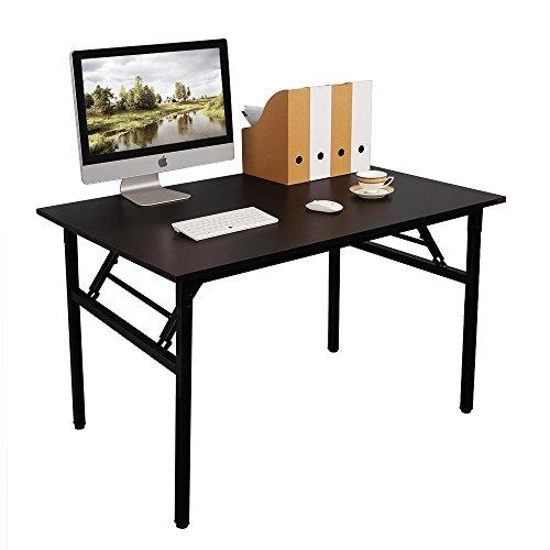 Need Schreibtisch Klapptisch Holzwerkstoffen Computertisch PC Tisch Bürotisch Arbeitstisch Esstisch für Zuhause, Büro, Picknick, Garten