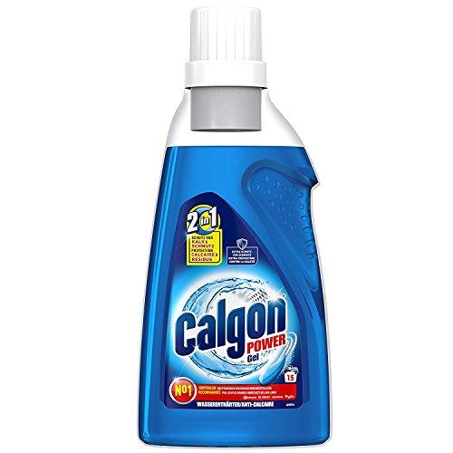 Calgon 2in1 Gel, Wasserenthärter gegen Kalk & Schmutz in der Waschmaschine, 3er Pack, 3x 750 ml