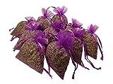 Lavendelsäckchen 10 Stück - Organza- Lavendelsäckchen gefüllt mit echten Französischen Lavendel aus der Provence je 10g