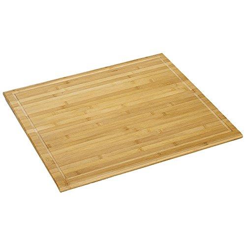 Kesper E528599 Schneide-/Abdeckplatte Bambus, Holz, Braun, cm, 56 x 50 x 4 cm, 1 Einheiten