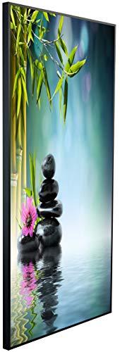 InfrarotPro   Infrarotheizung 750 Watt   Bildheizung 120x60x3 cm   Made in Germany   Geprüfte Technik   Ultra-HD Auflösung   Orchidee Harmony