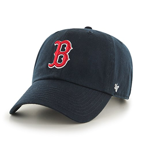 MLB Boston Red Sox Herren Baseball Cap, navy, one size