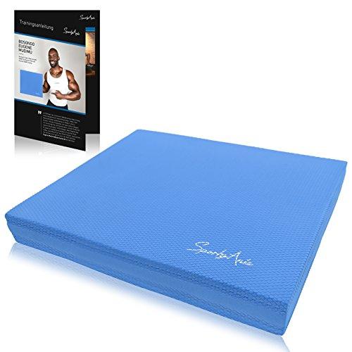 SportyAnis Balance-Pad / Koordinations-Matte Balance-Board Mit Übungsanleitung Gymnastik-Matte Weichbodenmatte Gleichgewicht-Kissen