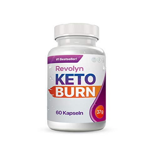 Revolyn Keto Burn - Diätpille für effektiven Gewichtsverlust (1 Flasche)