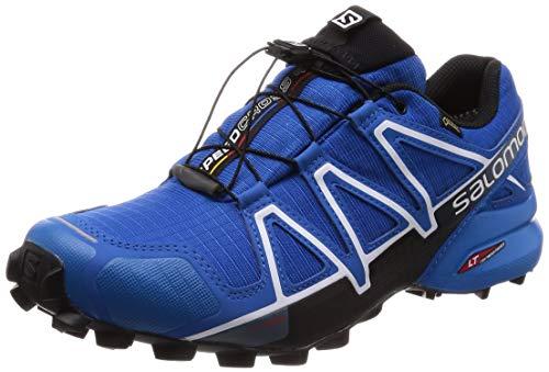 Salomon Herren Speedcross 4 GTX Trailrunning-Schuhe , Blau (Sky Diver/Indigo Bunting/Black) , 49 1/3 EU