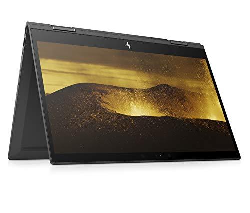 HP ENVY x360 15-cp0001ng (15,6 Zoll Full HD IPS Touchscreen) Convertible Notebook (AMD Ryzen 5 2500U, 8GB DDR4 RAM, 256 GB SSD, AMD Radeon Vega 8, Windows 10 Home) Dark Ash Silver