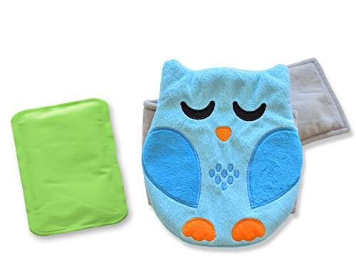 Belly Hugger - die natürliche Lösung bei Baby Koliken, Magenverstimmungen und Blähungen - Wohltuende Wärme kombiniert mit sanfter Kompression - Innovativ. Nützlich. Praktisch. (blau)