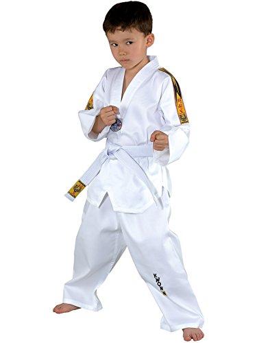 Taekwondoanzug Tiger von KWON, weiß, 551005, Gr.120