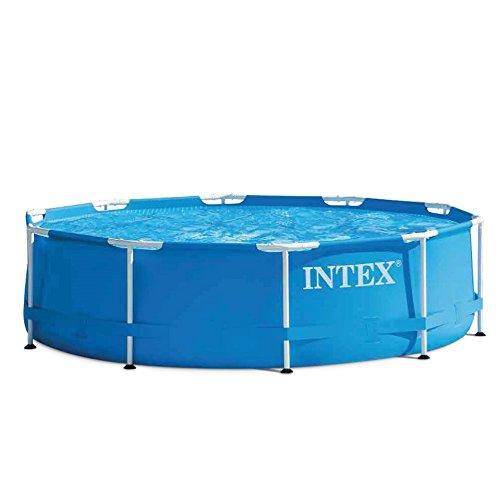 Intex Aufstellpool Frame Pool Set Rondo, Blau, Ø 305 x 76cm