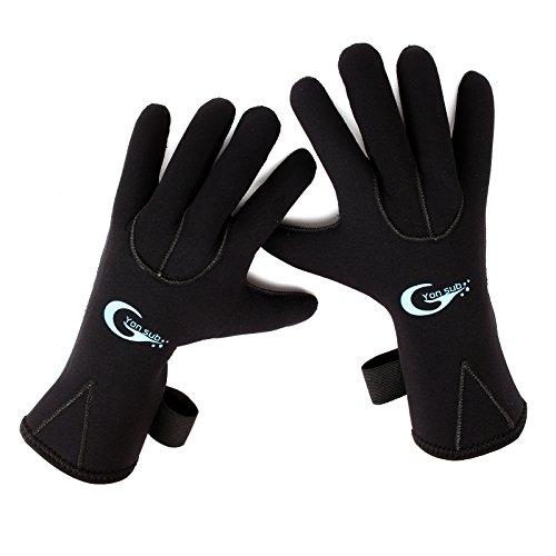 3MM Neoprenhandschuhen Neopren Handschuhe Neoprenschuhen S M L XL (L)