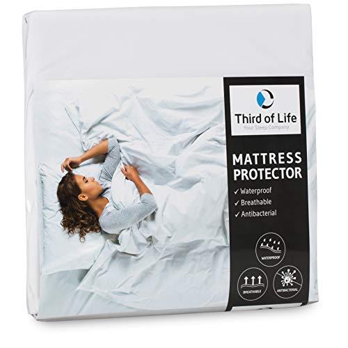 Matratzenschoner 120x200 wasserdicht | Atmungsaktive Matratzen-Auflage | Anti-Milben Bezug unter Spann-Bettlaken | Wasserundurchlässiger Matratzenschutz | Hygienischer Matratzen-Topper 120 x 200 cm