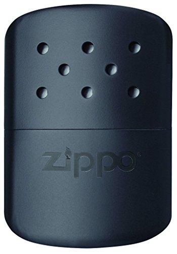 Zippo Handwärmer, 6/12 Stunden, Wiederverwendbar Schwarz Matte Black 12 Hour