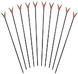 ARAPAIMA FISHING EQUIPMENT Stabile Rutenhalter im Set - 10 Stück mit V Rutenauflage 75 cm Gemischt 75 cm