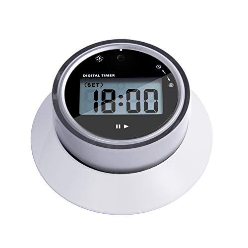 KWOKWEI Digitaler Küchentimer, Kurzzeitmesser Küche/Eieruhr mit LCD-Bildschirm, Elektronischer Timer/Magnetisch Timer mit Alarm & Countdown Funktion für Kochen, Backen, Studieren, Sport, Spielen
