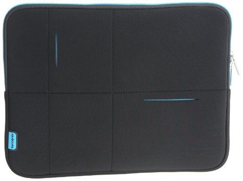 15,6'' AIRGLOW Laptop Sleeve, Black-Blue