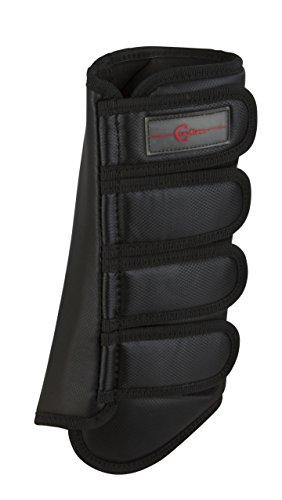 Kerbl 320130 Dressurgamaschen, WB, paarweise, hinten, schwarz