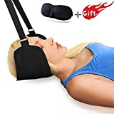 Hals Hängematte, Nackenhängematte Tragbares Zervixzuggerät zur Linderung von Nackenschmerzen und Physiotherapie Nacken Massagegerät