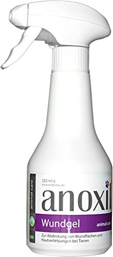 anoxil Wundgel (350 ml) Abdeckung von Wundflächen und Hautverletzungen bei Tieren