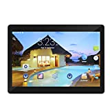 10 Zoll Tablet PC Android 6.0 4 GB RAM 64 GB ROM Octa Core 8 Kerne Dual Kameras 5.0MP 1280 * 800 IPS Mengonee (schwarz1)