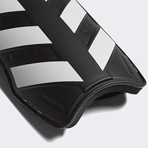 adidas Everlite Shin Guards, Black/White/Solar red, L