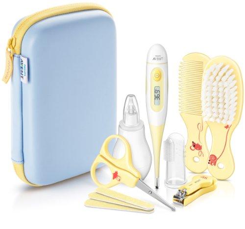 Philips Avent SCH400/00 Babypflege-Set inkl. aller Pflegeartikel, gelb