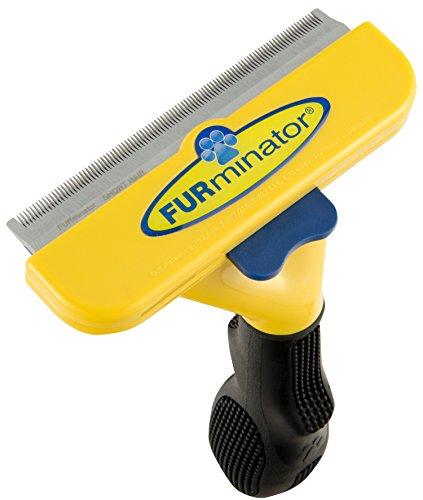 FURminator deShedding Hunde-Pflegewerkzeug zur Fellpflege / Hundebürste in Größe L zur gründlichen Entfernung von Unterwolle und losen Haaren - für kurzhaarige Hunde