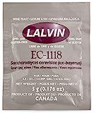 Lalvin EC1118 Weinhefe Trockenhefe 5 g für Weißwein Roséwein Fruchtwein Kaltgärung Sektgärung