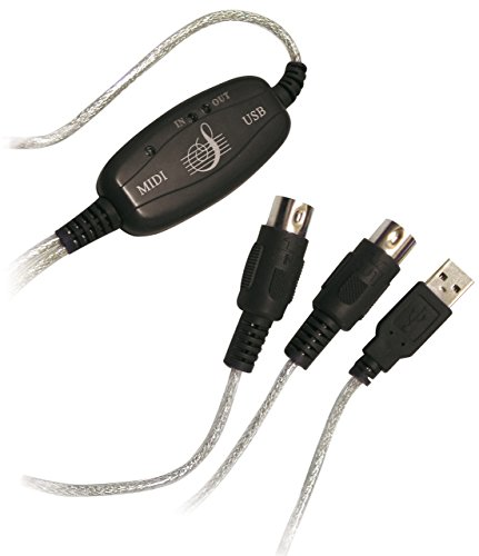 LOGILINK USB to MIDI Adapter Kabel 2,0m